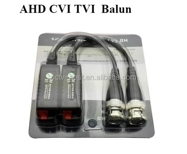 AOST HD Video Balun Transmitter Support 720P/1080P,AHD/CVI/TVI Security Camera