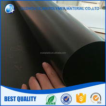 UV Offset Printing Matt Black 0.2mm Thick Plastic PVC Sheet Roll