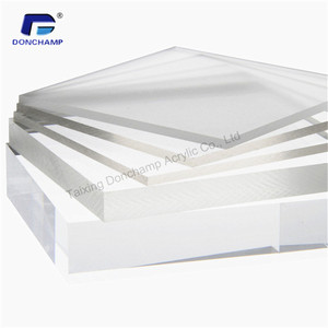 Wholesale Custom Clear acrylic sheet plexi glass box