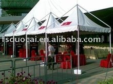 canopy tent used for wedding celebration