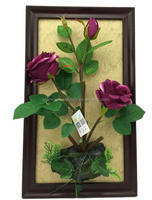 Factory decoration colorful Artificial wall hanging silk flower