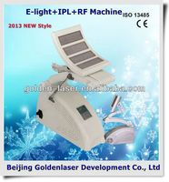 www.golden-laser.org/2013 New style E-light+IPL+RF machine hair removal brazilian wax