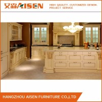 American Standard Luxury Classic Oak Solid Wood kitchen cabinet