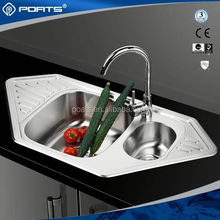 Reasonable & acceptable price factory directly small special design single bowl royal kitchen sink of POATS