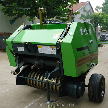 New type factory supply high efficiency rice straw baler