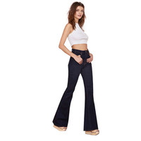 2016 New Women Long Jeans Button Pants Trousers for Wholesale Haoduoyi