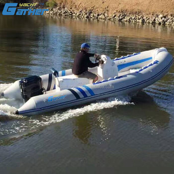 Gather 17ft rigid inflatable boat RIB520B