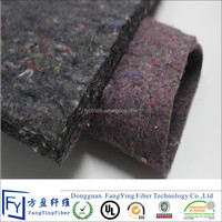 Thickness needle punched polyester recycled felt pad for mattress