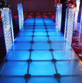Portable LED dance stage / aluminum stage with truss