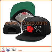 colorful embroidered buckle strape baseball caps