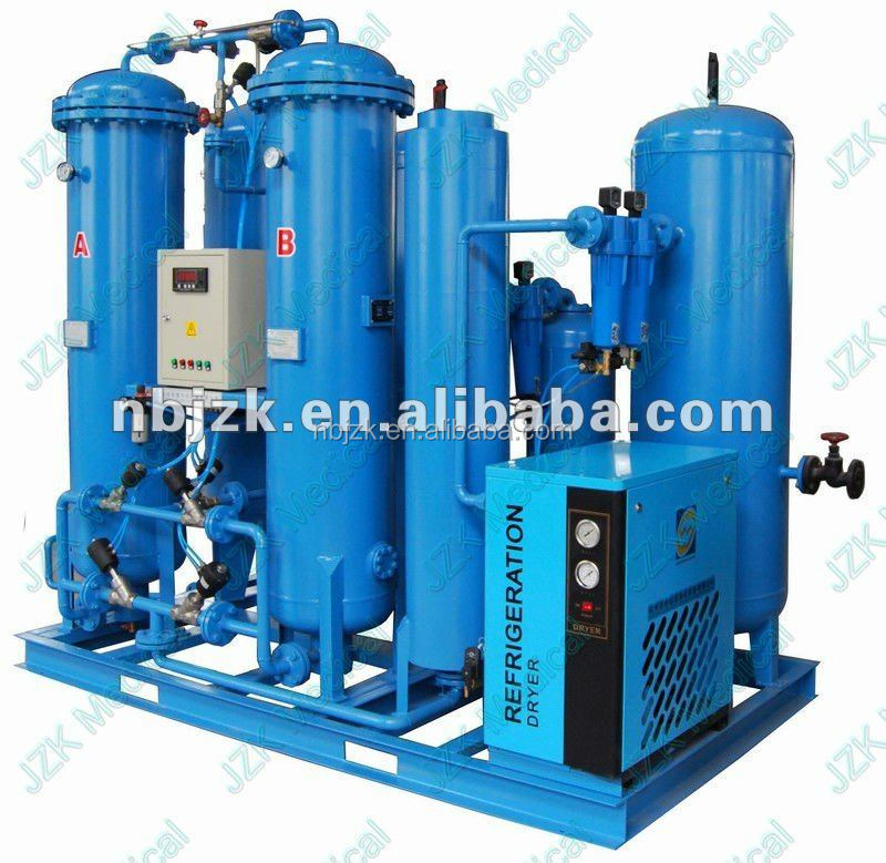 Automatic filling oxygen cylinders machine for hospital central oxygen