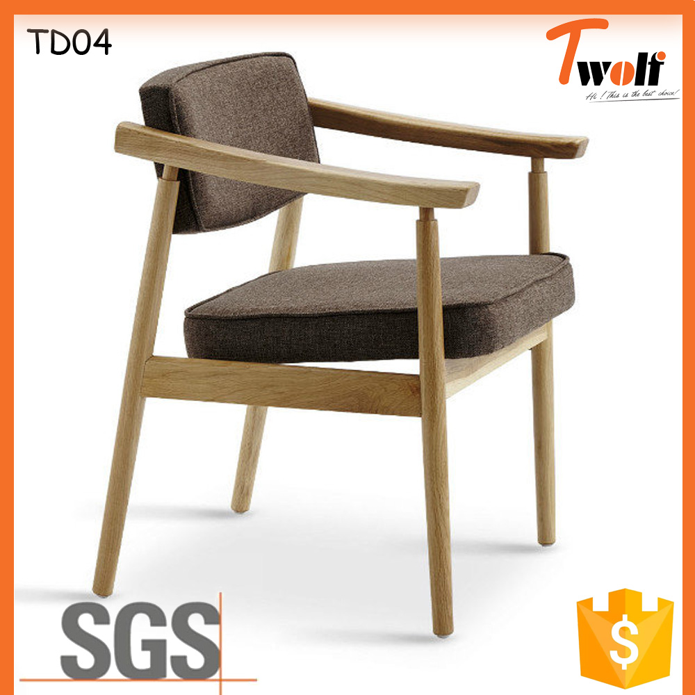 Langfang Guangdong Foshan wholesale used solid wood leisure living room office chair