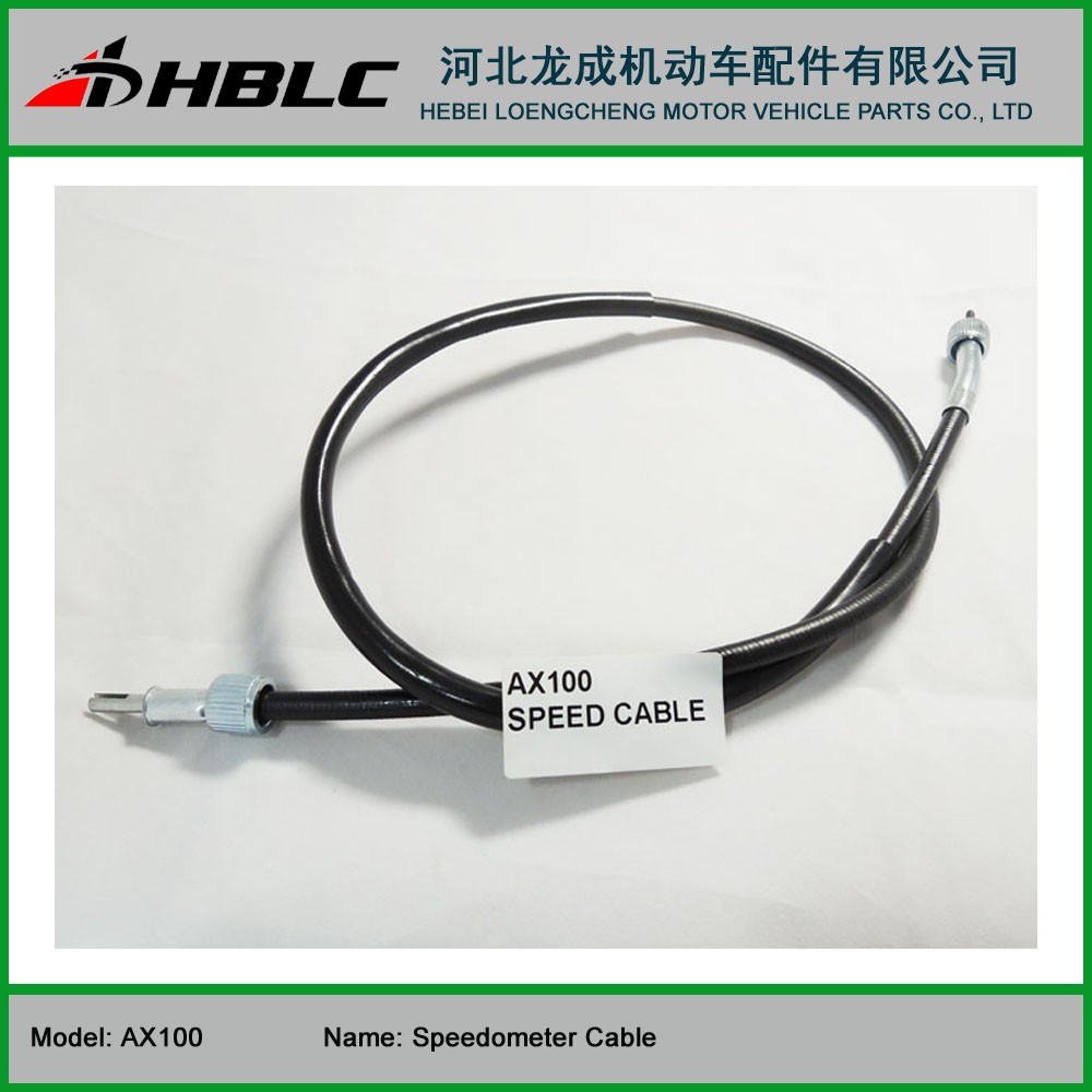 Motorcycle Spare Parts Speedometer Cable for Suzuki AX100