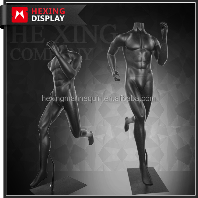 Full Body Realistic Running Sports Male Mannequin