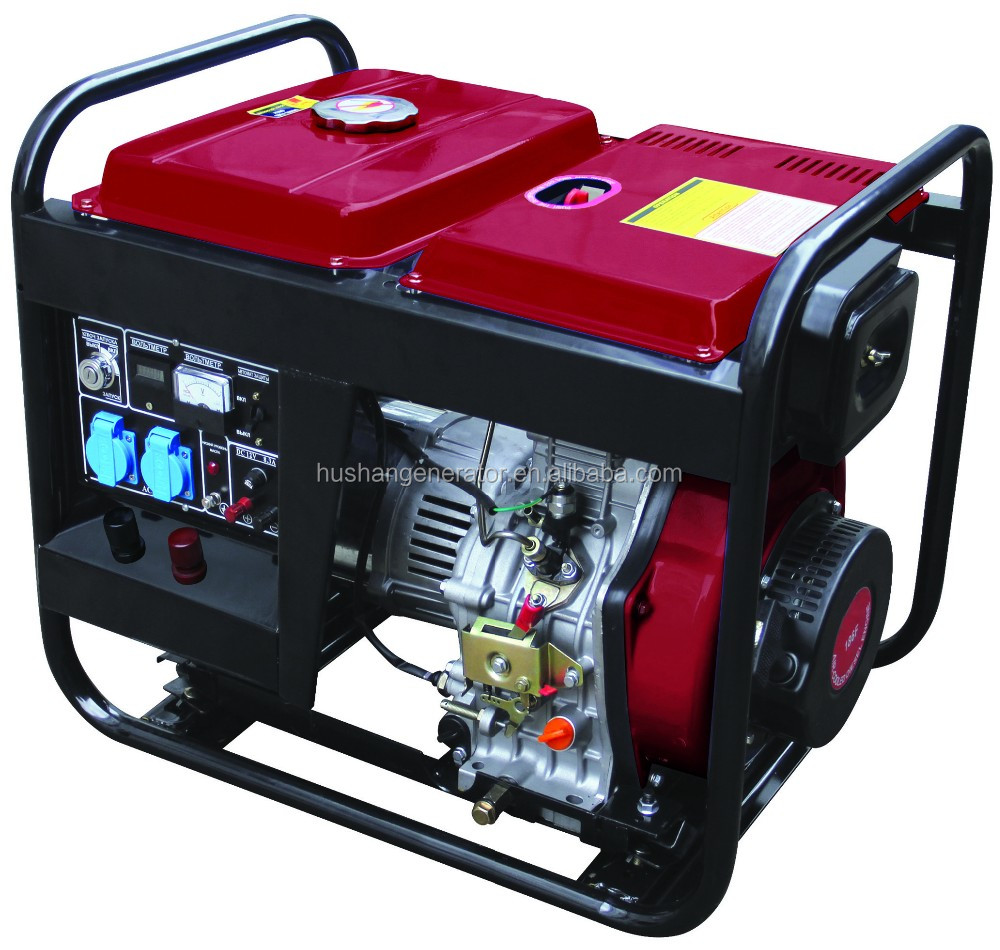LingBen Machinery Open Type Recoil/Electric Start Power Portable Used Diesel Generator Set Cheap Prices TaiZhou 2kw 3kw 5kw