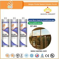 Neutral cure waterproof silicone sealant/construction glass sealant