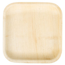 Disposable Square Bamboo Wooden Plate