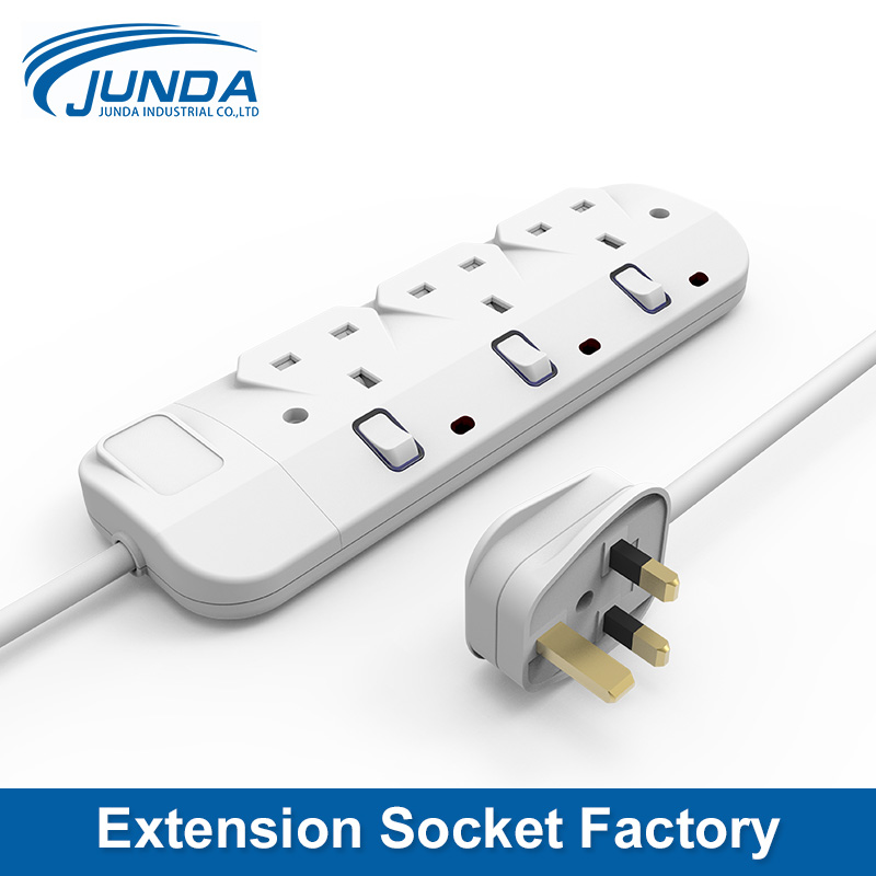 High quality cheap price EU/US/UK/AU uk 13a double bs extension socket with usb