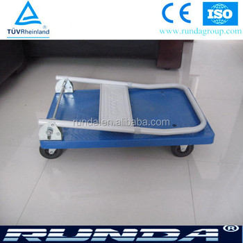 top quality foldable body platform hand trolley PH150