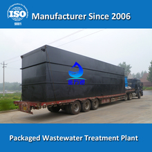 Containerized Mini Domestic Waste Water Treatment Plant Manufacturer