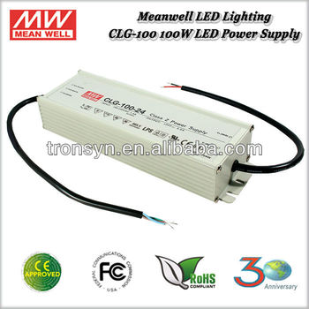 Meanwell Power Supply CLG-100-24 (100W 24V 4A) 100W Single Output 24V Waterproof Electronic LED Driver