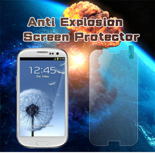 9H tempered glass mobile screen protectors/guard/cover/film for Samsung S3/S4/S5/S6/S7/S8/S9