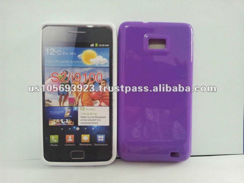 for Samsung galaxy s2 I9100 mobile phone case Jelly case
