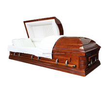 Best made in china high density funeral human casket coffin for the dead