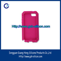 Customized waterproof silicon rubber cell phone cover