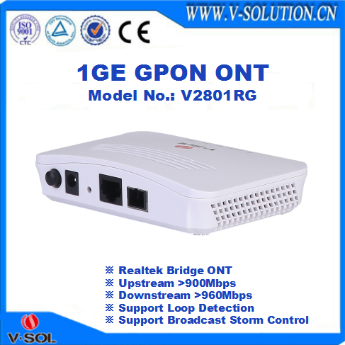 FTTH IPTV Box GPON CTAV ONU with 300Mbps Wireless Access