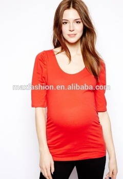 wholesale blank maternity t shirts