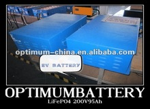 Deep cycle lifepo4 battery pack 144V 100Ah for electric vehicles