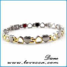 fashionable stainless steel jewelry ,hot sell in US and UK market bracelets design