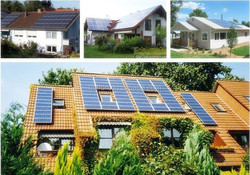 2015 home product 10KW on grid solar panel system for whole home use