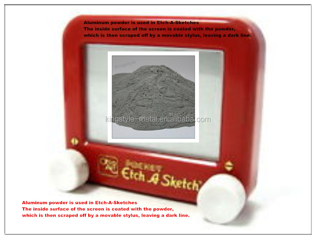 Aluminum Powder For Etch-A-Sketches