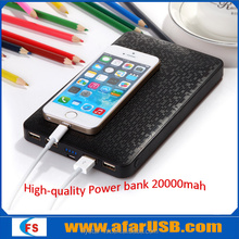 Portable 20000mAh Backup External Battery Dual USB Power Bank Pack Charger