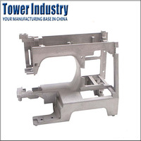 Customized Die Casting Aluminum Rack-Mounted Sewing Machine Parts