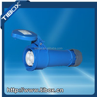 TIBOX New Generation Series Screw Install Type electric plug with power indicator