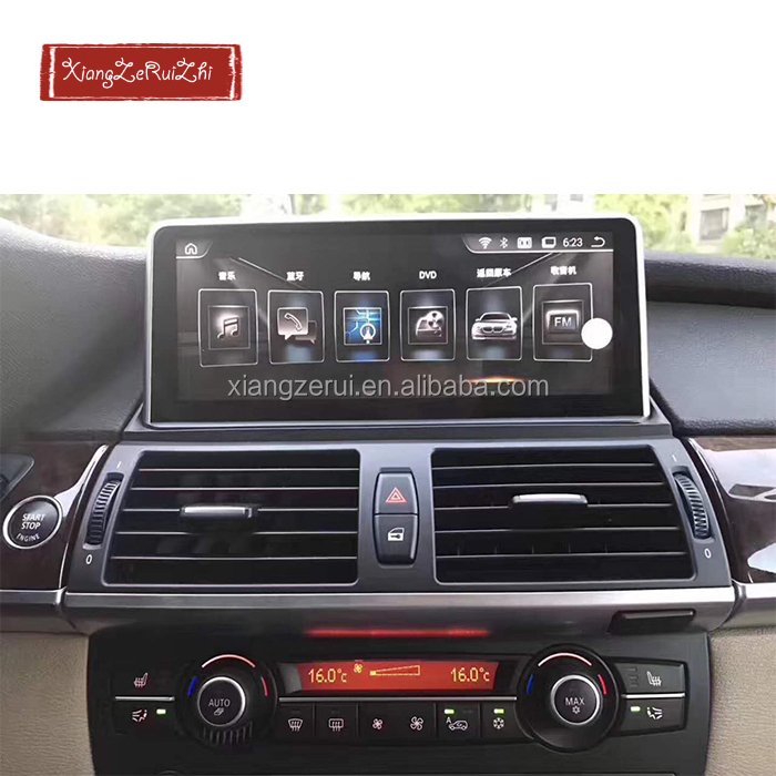 10.25 inch Android system GPS Navigation With video/Bluetooth/TV/3G/WIFI/USB/Radio for BMW X5 E70 2007-2013 /X5 E71 2007-2014