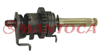 Motorcycle engine parts:Kick start shaft assy