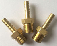 Brass Tailpieces Male Hosetail Barbs in various threads and hose thicknesses