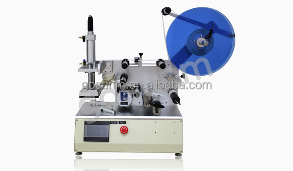 Professional Semi-automatic plane labeling machine(with display screen) GSJ-T-30114
