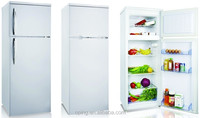 supermarket double door mini refrigerator/fridge/compressor refrigerator