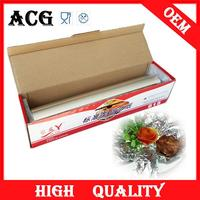 Food packing aluminium foil kraft paper laminate with oem color box