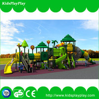 Children outdoor plastic playsets for kids