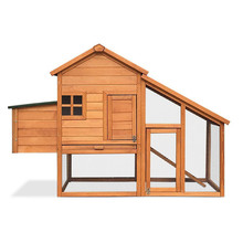 Factory direct sell outdoor waterproof wooden chicken coop pet house