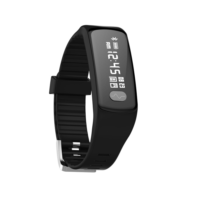 Health Gift ECG PPG Smart Fit Band with Step/Sleep/Heart Rate and Blood Pressure Tracker