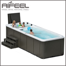 5810 freestanding acrylic outdoor whirlpool massage above ground swimming pool hot tub