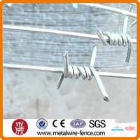 Zinc Coated Barbed Wire Barrier Wire