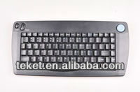 OEM Infrared Mini Trackball Keyboard-K809 with rubber mouse, in stock